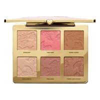 Too Faced Natural Face Highlight Blush And Bronzing Veil Face Palette Multi
