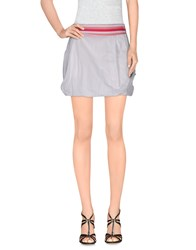 Wesc Skirts Mini Skirts Women White