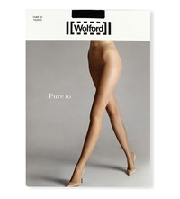 Wolford Pure 10 Opaque Tights Black