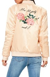 Missguided Women's Me Myself And I Bomber Jacket