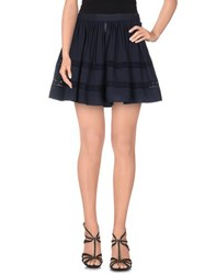 Armani Jeans Skirts Mini Skirts Women Dark Blue