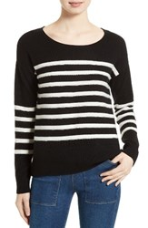 Joie Women's Simonne Stripe Wool And Cashmere Sweater