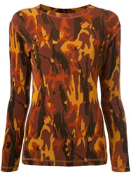 Jean Paul Gaultier Vintage Camouflage T Shirt