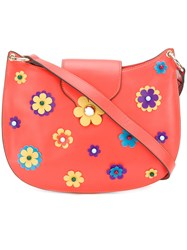 Tila March Mila Floral Hobo Bag Yellow And Orange