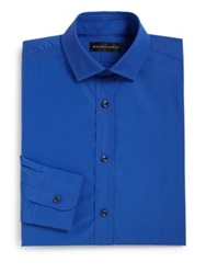 Ralph Lauren Black Label Tailored Fit Dress Shirt Blue