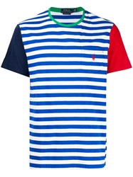 Polo Ralph Lauren Striped T Shirt Blue