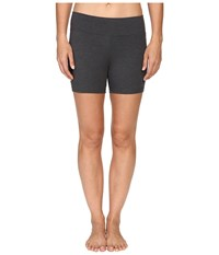 Jockey Active Bike Short W Wide Waistband Charcoal Shorts Gray