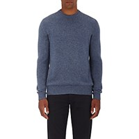 Ermenegildo Zegna Men's Fine Gauge Cashmere Sweater Light Blue
