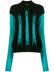 Ann Demeulemeester Abstract Intarsia Jumper 60