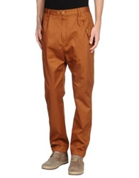 Camo Casual Pants Brown