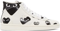 Comme Des Garcons Off White Converse Edition High Top Sneakers
