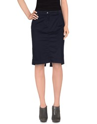 Marina Yachting Skirts Knee Length Skirts Women Dark Blue