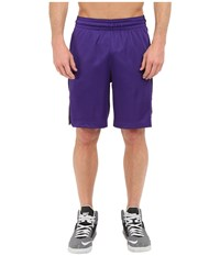 Nike Elite Stripe Short Court Purple Black White Metallic Silver Men's Shorts