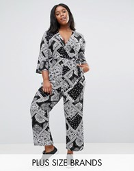 Alice And You Paisley Print Jumpsuit Multi