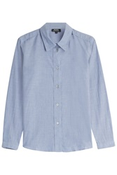 A.P.C. Cotton Shirt Blue