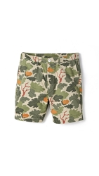 Penfield Grafton Shorts Vine Camo Olive