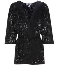 Prism Palm Beach Wrap Cardigan Black