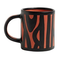 Hay Wood Mug Bright Red