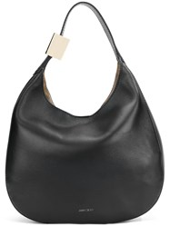 Jimmy Choo Crescent Tote Bag Black