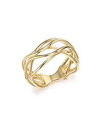 Bloomingdale's 14K Yellow Gold Wave Wire Ring 100 Exclusive