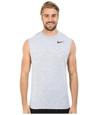 Nike Dri Fit Training Muscle Tank Top Cool Grey Black Men's Sleeveless Gray