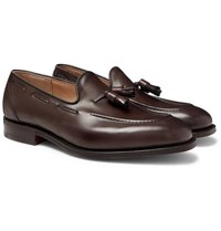 Church's Kingsley 2 Polished Leather Tasselled Loafers Dark Brown