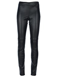 Joseph Leather Legging Black