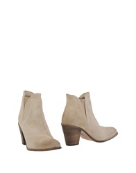 Hoss Intropia Ankle Boots Beige