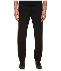 Belstaff Cambrose Technical Poly Cotton Interlock Track Pants Black Casual Pants