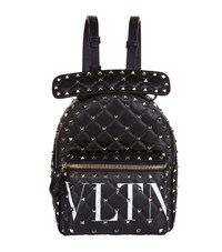 Valentino Garavani Mini Leather Rockstud Backpack Multi