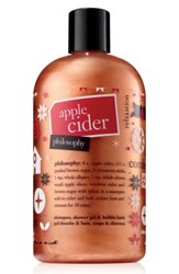 Philosophy Apple Cider Shampoo Shower Gel And Bubble Bath No Color