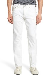 Rock Revival Men's Big And Tall Straight Leg Jeans White