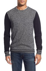 Men's 1901 'Anacortes' Wool And Cashmere Baseball Sweater