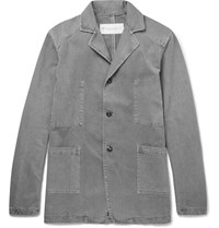 Private White V.C. Goodwood Cotton Twill Jacket Gray
