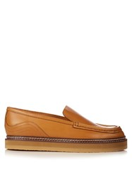 See By Chloe Christie Leather Loafers Light Tan