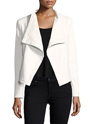 Saks Fifth Avenue Red Peppin Open Front Jacket