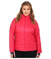 Columbia Plus Size Mighty Lite Iii Jacket Ruby Red Women's Coat