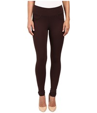 Jag Jeans Ricki Pull On Legging Double Knit Ponte Dark Chocolate Women's Casual Pants Brown