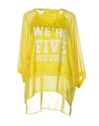 5Preview Blouses Yellow