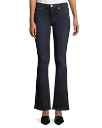 Hudson Love Mid Rise Boot Cut Jeans Petite Blue
