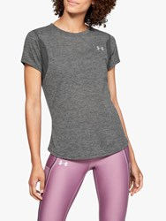Under Armour Streaker 2.0 Short Sleeve Running Top Grey