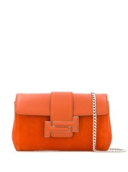 Tod's Double T Crossbody Bag Orange