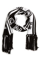 Topman Then And Now Scarf Black