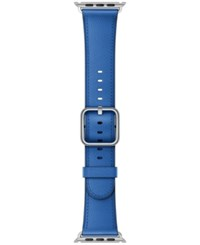Apple Watch 38Mm Cosmos Blue Classic Leather Buckle Electric Blue