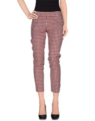 Pt0w Trousers Casual Trousers Women Red