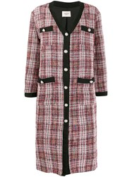 Jovonna Connie Coat Red