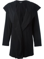Ann Demeulemeester Hooded Cardigan Black