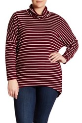 14Th And Union Cozy Turtleneck Sweater Plus Size Red