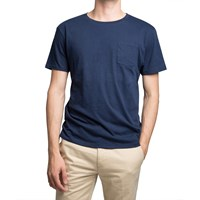 Gant Rugger Navy Pocket T Shirt Blue