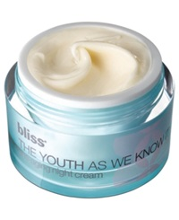 Bliss Youth As We Know It Anti Aging Night Cream